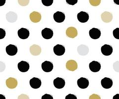 polka dot premium pattern abstract background vector