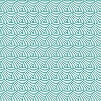 Seamless Fish Scale Pattern Vector Illustration.