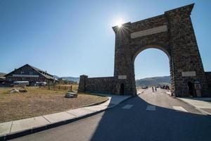 North Entrance to Yellowstone National Park photo