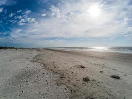 Beach scenes at hunting island south carolina photo