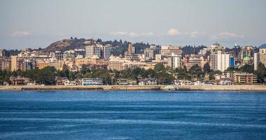 views from Ogden Point cruise ship terminal in Victoria BC.Canada photo