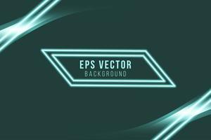 Green editable elegant background, glow BG abstract vector