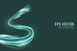 Green background eps vector editable elegant back ground glow BG abstract