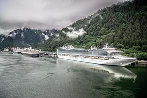 Juneau, Alaska, USA, 2021 - Northern town and scenery photo