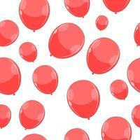 Globos de color brillante seamles trama de fondo ilustración vectorial eps10 vector