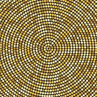 Retro Vintage Hypnotic Background. Vector Illustration