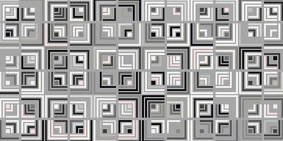 Abstract geometric seamless rectangle pattern gray background design modern vector