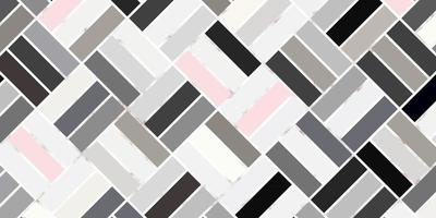 Abstract geometric seamless rectangle pattern pastel color with marble line elegant background vector