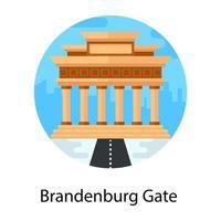 Branden Burg Gate vector