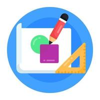 Drafting and Drawings Tools vector