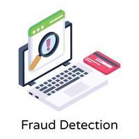 detección y análisis de fraudes vector