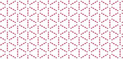 Red and white lines pattern Vector illustration