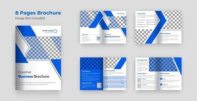 Company profile brochure template design vector