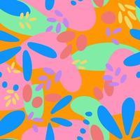 Abstract bright modern seamless pattern vector illustration