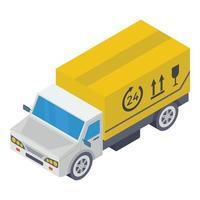 Fragile Parcel Delivery vector