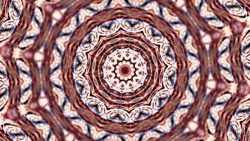 Psychedelic Kaleidoscope Geometric Loop video