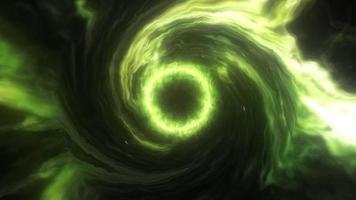 Neon Green Blackhole Rotation video