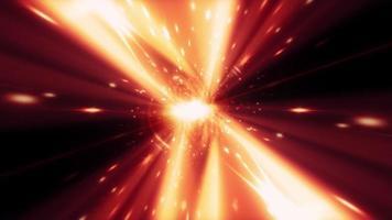 Red Fast Flicker Light Streak video