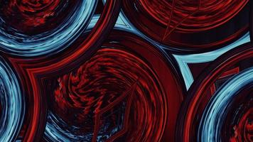 gradiente grunge vermelho azul arte escuro video