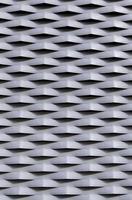 rejilla de protección metálica con relieves foto
