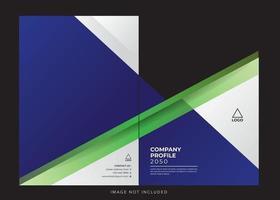 business corporate company profile cover vector