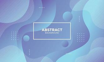 Abstract Blue Fluid Wave Background. vector