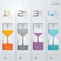 Info graphic design vector