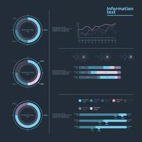 Information infographic vector