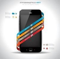 Infographic minimal elements vector