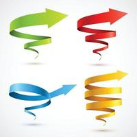 Creative shape design vector