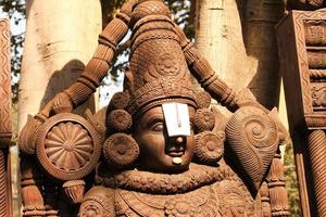Wooden Idol of Lord Venkateswara, Tirupati Balaji photo