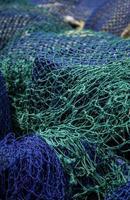 viejas redes de pesca foto