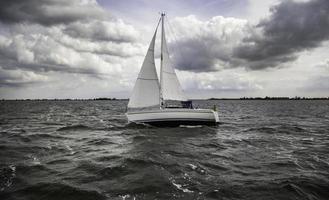 Sailing boat sailing photo