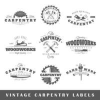 Vintage badges design vector