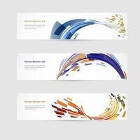 Abstract art template design vector
