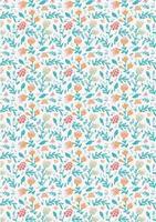 diseño de fondo floral vintage vector