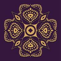Ornaments mandala design elements vector