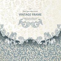 Vintage background design elements vector