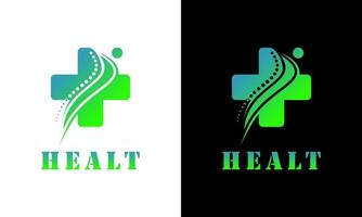 Dna chiropractic health care clinic medical vector image