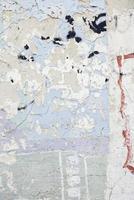 muro de cemento astillado y maltratado foto
