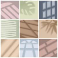 Window Light Set Vector Illustration