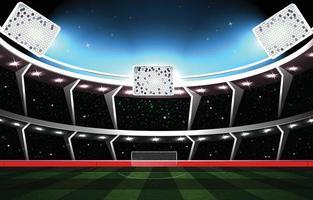 Football Stadium Background Concept vector