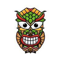 Tiki mask free vector