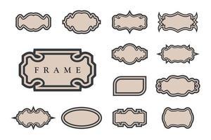 Set frame free vector
