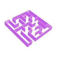 laberinto para niños. rompecabezas para niños. enigma del laberinto. vector