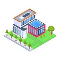 Home Building and Residence vector