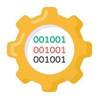 configuraciones y administración binaria vector