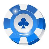 Poker Bet Chip vector