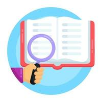 Book Search and Explore vector