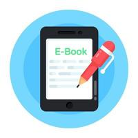 E Book and Learning vector